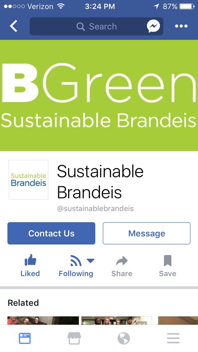 Sustainablebrandeisfollowed