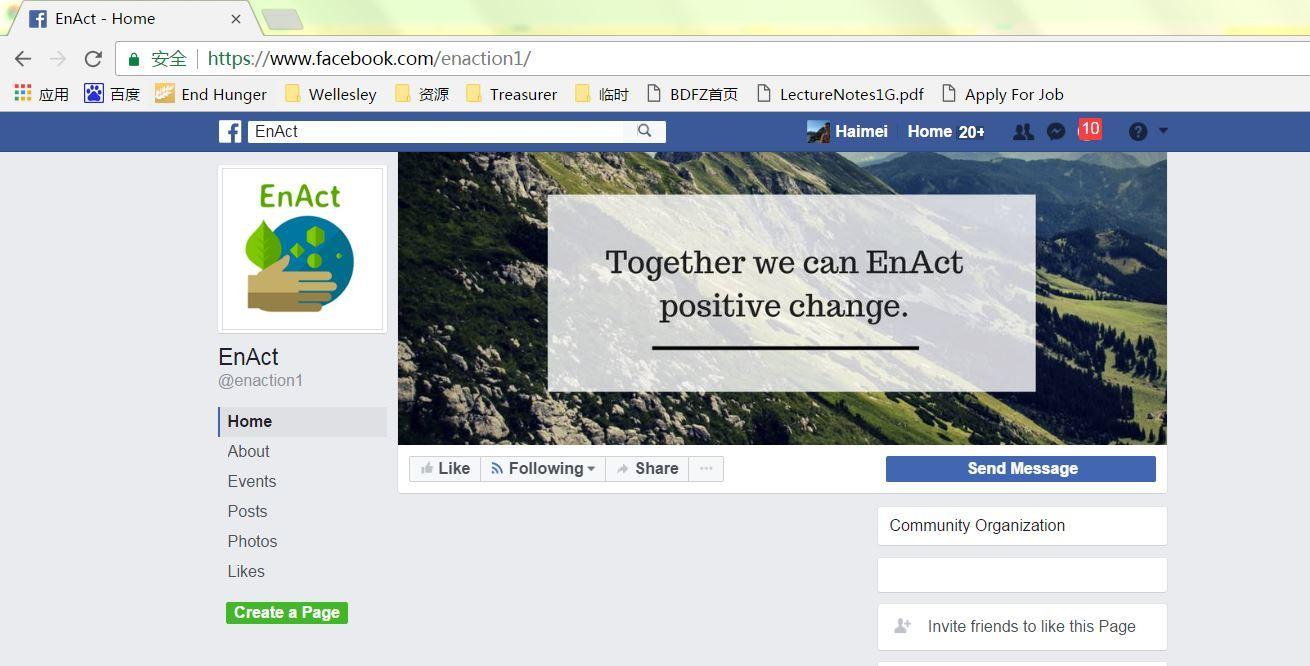 Like enact facebook