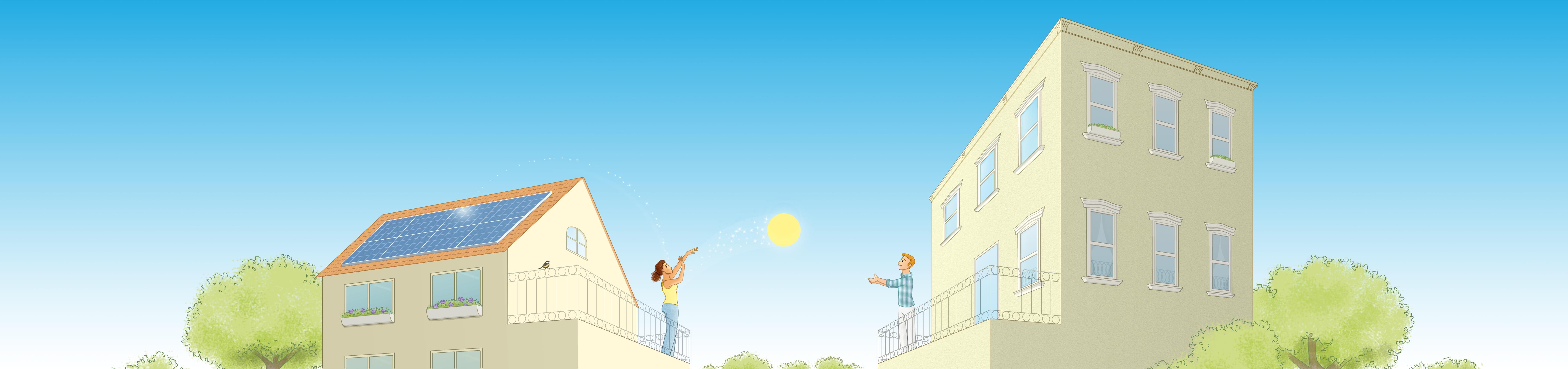Yeloha solar sharing